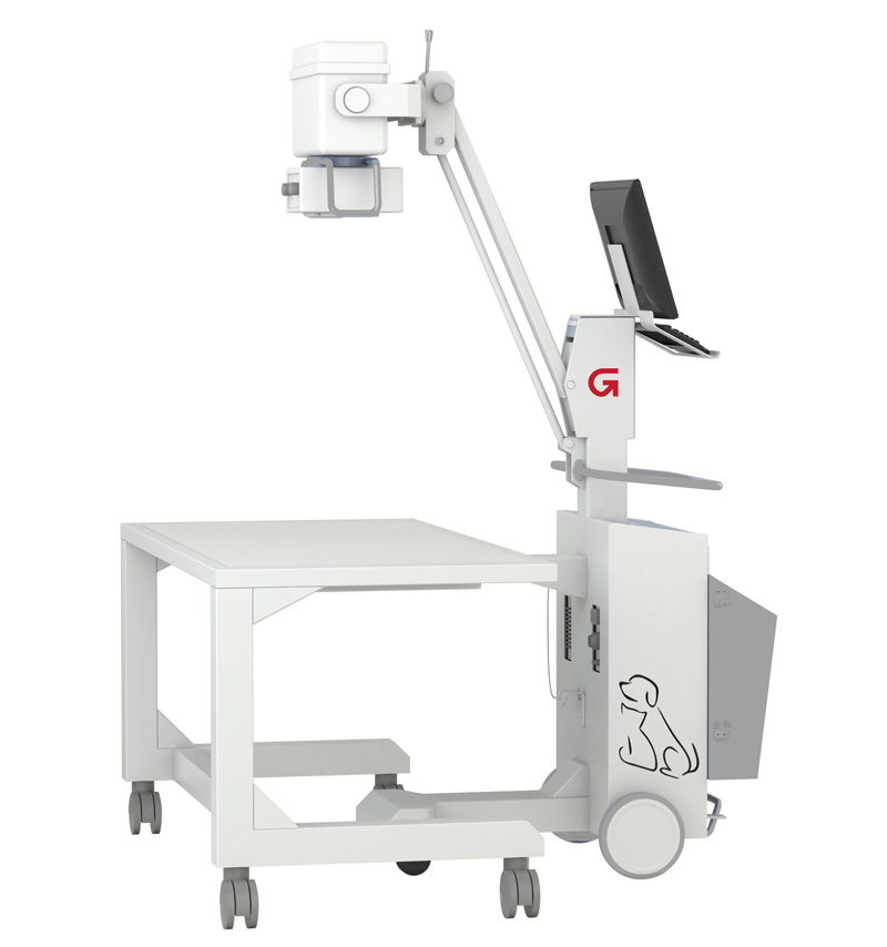 Mavia 1010v Digital Radiographic Mobile Vet System